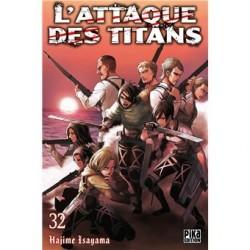 L'attaque des Titans - Tome 32