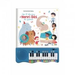 Mon livre-piano Henri Dès