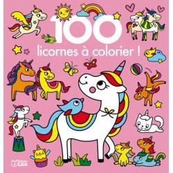 100 licornes à colorier
