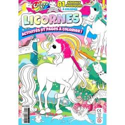 Licornes Jeux et Coloriages