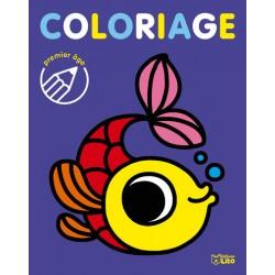 Coloriage 1er âge le poisson
