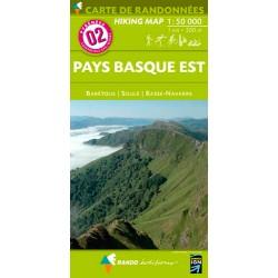 Pays Basque Est 1/50 000