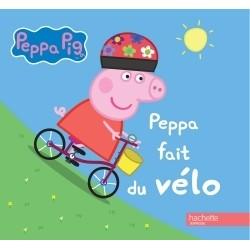 Peppa fait du vélo