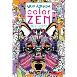 Mon Agenda Color Zen 2021-2022