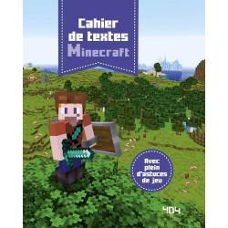 Cahier de textes Minecraft...